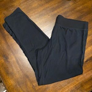 Gilligan & O'Malley super soft black knit pants
